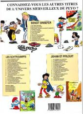 Verso de Benoît Brisefer -3d03- Les douze travaux de benoît brisefer