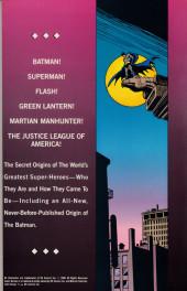 Verso de Secret Origins of the World's Greatest Super-Heroes (1989) -INT- Secret Origins of the World's Greatest Super-Heroes