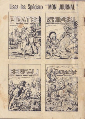 Verso de Apaches (Totem Spécial HS, Kris Spécial HS, puis) -13- Silver Scout - La défaite d'Aigle Rouge
