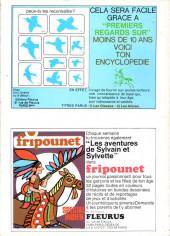 Verso de Sylvain et Sylvette -7- Le voleur envolé
