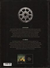 Verso de M.O.R.I.A.R.T.Y -1- Empire mécanique 1/2