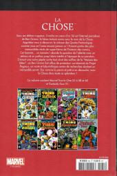 Verso de Marvel Comics : Le meilleur des Super-Héros - La collection (Hachette) -66- La chose