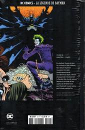 Verso de DC Comics - La légende de Batman -2420- Knightfall - 1ère partie