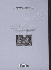 Verso de Les grands Classiques de la Bande Dessinée érotique - La Collection -6078- Aura l'orpheline