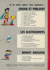 Verso de Benoît Brisefer -5- Le cirque Bodoni