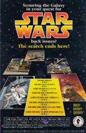 Verso de Classic Star Wars: The Early Adventures (1994) -8- Classic Star Wars: The Early Adventures #8