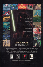 Verso de Star Wars: Vader's Quest (1999) -4- Vader's Quest Part Four of Four