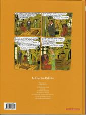 Verso de Le chat du Rabbin -8- Petit panier aux amandes