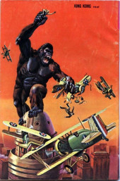 Verso de Movie comics (Gold Key) -809- King Kong