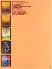 Verso de Moebius œuvres complètes -1- Le Bandard Fou, John Watercolor, Cauchemar Blanc