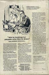 Verso de T.H.U.N.D.E.R. Agents (Tower comics - 1965) -10- (sans titre)