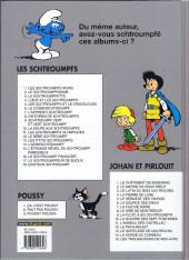 Verso de Les schtroumpfs -13b2004- Les p'tits Schtroumpfs