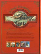 Verso de Le voyage Extraordinaire -2a2017- Tome 2 - Le Trophée Jules Verne 2/3
