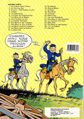 Verso de Les tuniques Bleues -12b1987- Les bleus tournent cosaques