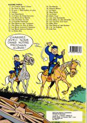 Verso de Les tuniques Bleues -11b1987- Des bleus en noir et blanc