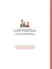 Verso de Spirou et Fantasio (Une aventure de.../Le Spirou de...) -14HC- L'Espoir malgré tout - Première partie - Un mauvais départ