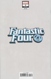 Verso de Fantastic Four (2018) -1Q- Jack Kirby variant