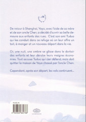Verso de La balade de Yaya -HS1- Le fantôme de l'orphelinat