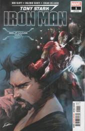 Verso de Tony Stark: Iron Man (2018) -1A- Self-Made Man Part One: What's the Big Idea?