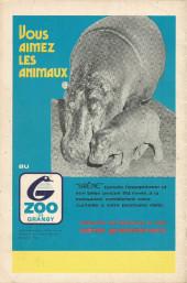 Verso de L'incroyable Hulk (Éditions Héritage) -34- La brute humaine au pays caché!