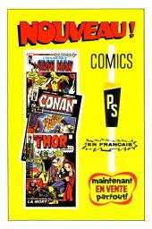 Verso de L'invincible Iron Man (Éditions Héritage) -1- La furie infernale!