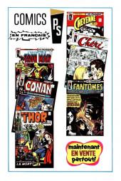 Verso de L'invincible Iron Man (Éditions Héritage) -3- Raga: fils du feu!