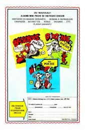 Verso de Karaté Kid (Éditions Héritage) -3- Le voleur de demain