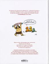 Verso de Silex and the city -8- L'homme de cro-macron
