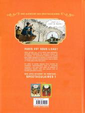 Verso de Spectaculaires (Une aventure des) -3- Les Spectaculaires prennent l'eau