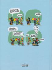 Verso de Les cavaliers de l'apocadispe -1- Les cavaliers de l'apocadispe maîtrisent la situation