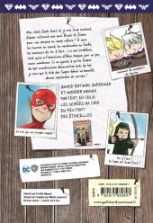 Verso de Le club des Super-héros -3- Collés en enfer