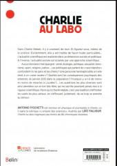 Verso de Charlie Hebdo - Charlie au labo