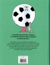 Verso de Le monde est foot (Soulcié) - Le monde est foot