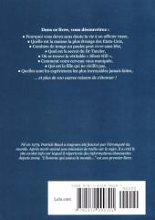Verso de (AUT) Baud, Patrick - L'Homme qui sauva le monde et autres sources d'étonnement