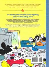 Verso de Disney Masters -1- Vol. 1 - mickey mouse : the delta dimension