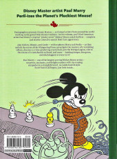 Verso de Disney Masters -3- Vol. 3 - Mickey Mouse - The case of the vanishing bandit