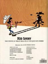 Verso de Kid Lucky -HS 01'- Kid lucky