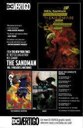 Verso de Sandman Universe (The) (2018) -1A- Issue #1