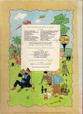 Verso de Tintin (Historique) -4B33- Les cigares du pharaon