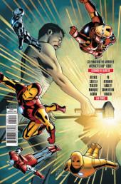 Verso de Invincible Iron Man (The) (2016) -600- The Search For Tony Stark Finale
