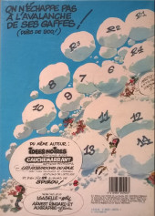 Verso de Gaston -13a1984/03- Lagaffe mérite des baffes