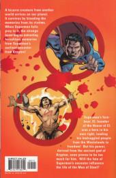 Verso de Superman (One shots - Graphic novels) -OS- Superman: Blood of My Ancestors