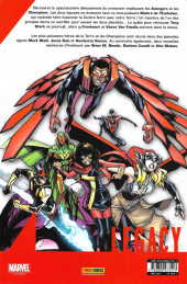 Verso de Marvel Legacy - Avengers (Marvel France - 2018) -2- Mondes en collision