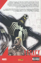 Verso de Marvel Legacy - Spider-Man Extra (Marvel France - 2018) -1- À fleur de peau