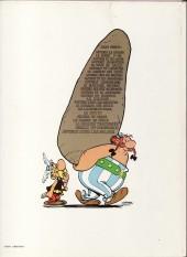 Verso de Astérix (Hors Série) -C01b1983- Les 12 Travaux d'Astérix