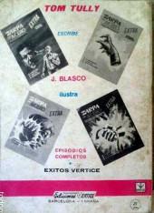 Verso de Aquí Barracuda -12- Mercaderes de muerte
