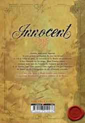 Verso de Innocent Rouge -6- Baptême du sang
