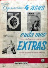 Verso de Zarpa de acero (Vértice - 1966) -1- Zarpa de acero