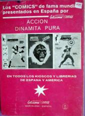 Verso de Zarpa de acero (Vértice - 1966) -2- La Zarpa ataca