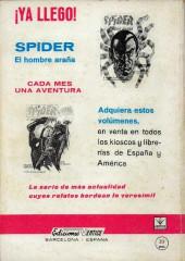 Verso de Zarpa de acero (Vértice - 1966) -4- Tentáculos asesinos